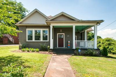 Davidson County Single Family Home Under Contract - Showing: 2100 Eastland Ave