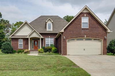 Clarksville Single Family Home For Sale: 1365 Judge Tyler Dr