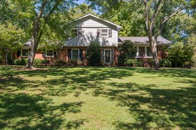 Brentwood Single Family Home For Sale: 8206 Chatham Ct