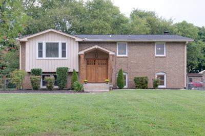 Old Hickory Single Family Home For Sale: 319 Tyne Ct