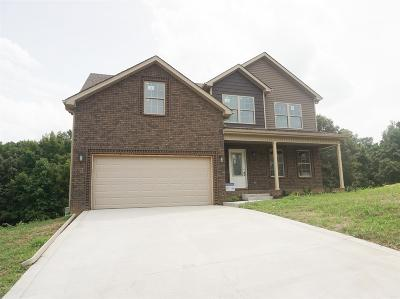 Clarksville Single Family Home Under Contract - Not Showing: 140 Robin Lynn