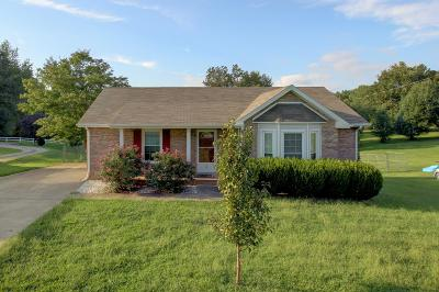 Clarksville Single Family Home Under Contract - Showing: 966 Joey Dr