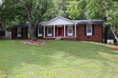 Clarksville Single Family Home For Sale: 309 Cainridge Dr