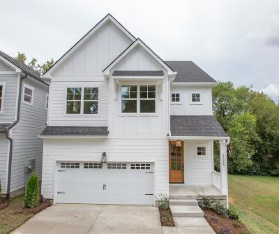 Nashville Single Family Home For Sale: 1908 A Sheridan Rd