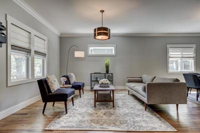 Nashville Single Family Home Under Contract - Showing: 1118 Stockell St