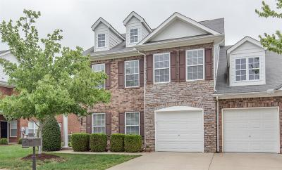 Spring Hill Condo/Townhouse For Sale: 2027 Morrison Ave