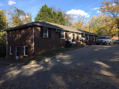 Clarksville Multi Family 5+ Under Contract - Not Showing: 824 Central Ave