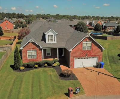 White House Single Family Home For Sale: 105 Sequoyah Ct