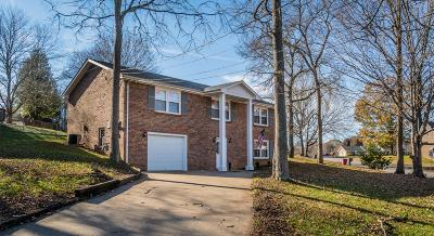 Clarksville Single Family Home For Sale: 1274 Cloverdale