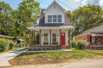 Franklin, Nashville Single Family Home For Sale: 1113 Park St