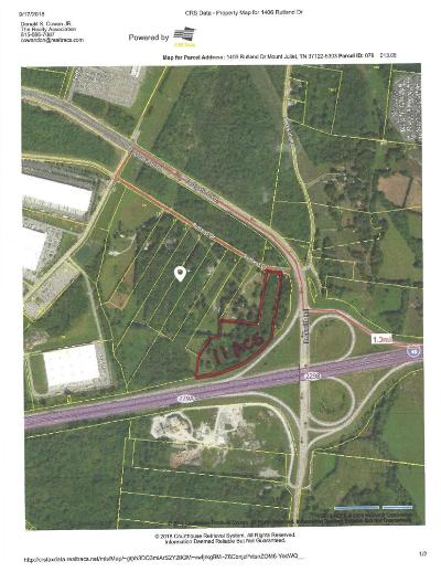 Wilson County Residential Lots & Land For Sale: Rutland Rd