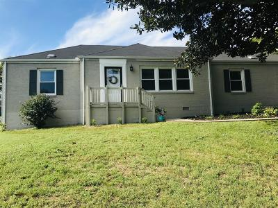 Goodlettsville Single Family Home Under Contract - Showing: 218 Moss Trl