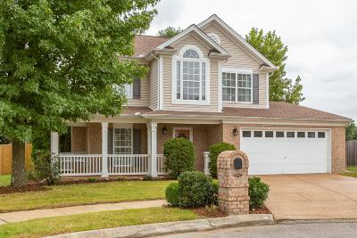 Franklin Single Family Home Under Contract - Not Showing: 404 Freesia Ct