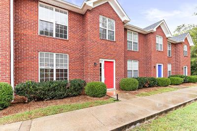 Christian County, Ky, Todd County, Ky, Montgomery County Condo/Townhouse For Sale: 522 S 1st St