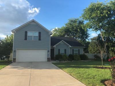 Murfreesboro Single Family Home Under Contract - Not Showing: 1004 Bluecreek Cir
