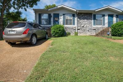 Davidson County Condo/Townhouse Under Contract - Not Showing: 538 Cedar Dr