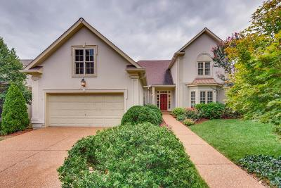 Nashville Single Family Home Under Contract - Showing: 302 Windemere Woods Dr