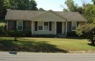 Clarksville Single Family Home Under Contract - Not Showing: 728 Clayton Dr