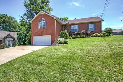 Hendersonville Single Family Home Under Contract - Showing: 1047 Burnham Dr S