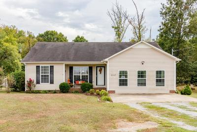 Lewisburg Single Family Home For Sale: 2117 Horton Way