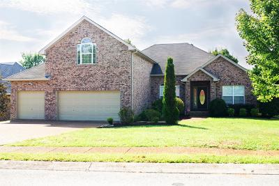 Spring Hill Single Family Home For Sale: 1715 Dryden Dr