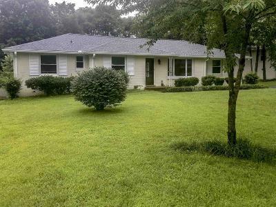 Nashville Single Family Home For Sale: 1206 Davidson Rd