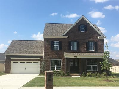 Murfreesboro Single Family Home For Sale: 4712 Kingdom Drive Lot 43