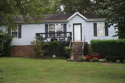 Sumner County Single Family Home For Sale: 1022 Lynndale Dr