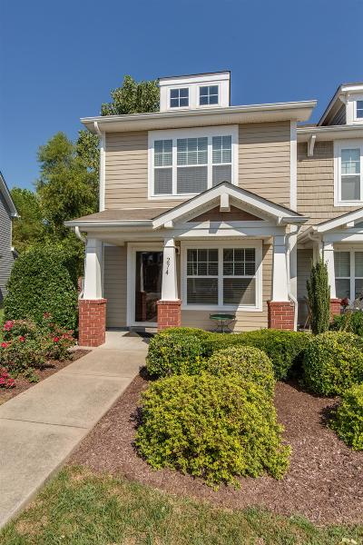 Wilson County Condo/Townhouse Under Contract - Not Showing: 274 Killian Way