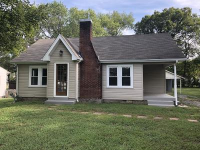 Old Hickory Single Family Home Under Contract - Showing: 103 Becker Ave