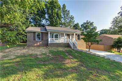 Clarksville Rental For Rent: 412 Bridlewood Road