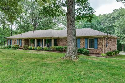 Kingston Springs Single Family Home For Sale: 278 Woodlands Dr