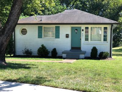 East Nashville Single Family Home For Sale: 601 N 5th St
