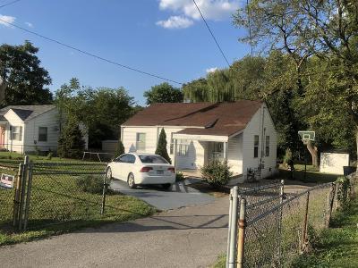 Nashville TN Single Family Home For Sale: $250,000