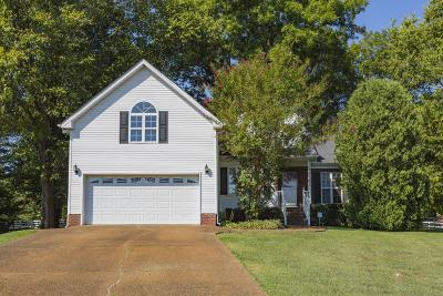 Spring Hill Single Family Home For Sale: 1711 Dorset Ct
