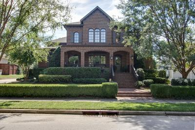 Franklin Single Family Home For Sale: 1731 Championship Blvd
