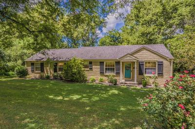 Nashville Single Family Home For Sale: 4031 Lealand Lane
