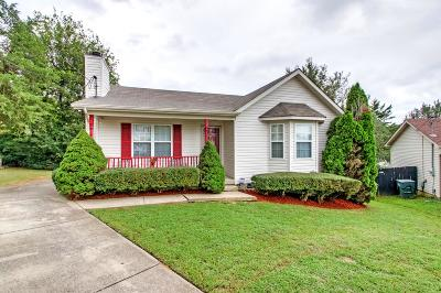 Davidson County Single Family Home Under Contract - Showing: 128 Antioch Woods Way