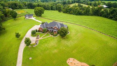Ashland City Single Family Home For Sale: 1421 Leo Baker Rd, Lot 1