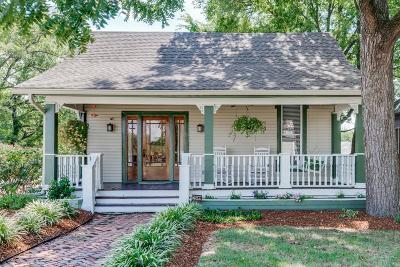 Nashville Single Family Home For Sale: 4401 Elkins Ave