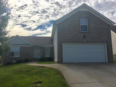 Clarksville Single Family Home For Sale: 3483 Oak Creek Drive