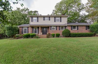 Hendersonville Single Family Home For Sale: 105 Diddle Ct