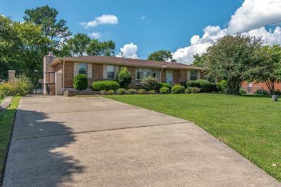 Nashville Single Family Home For Sale: 1812 Cloverleaf Dr