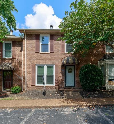 Nashville Condo/Townhouse For Sale: 520 Williamsburg Dr