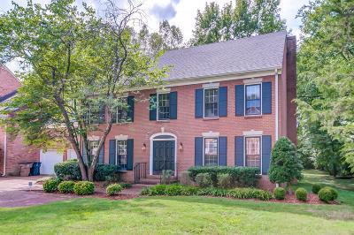 Nashville Single Family Home For Sale: 4404 Charleston Place Cir
