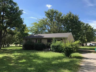 Lewisburg Single Family Home For Sale: 2000 Phillips St