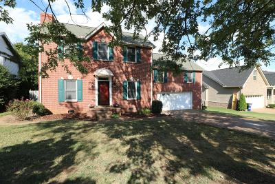 Spring Hill Single Family Home For Sale: 1608 Witt Hill Dr