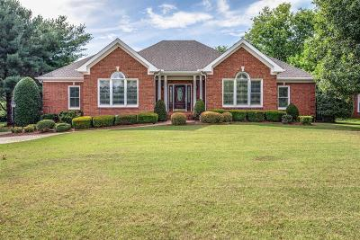 Brentwood TN Single Family Home Under Contract - Showing: $667,000