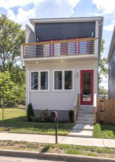 Nashville Single Family Home For Sale: 2501 A Scovel St