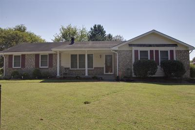 Hendersonville Single Family Home Under Contract - Showing: 114 Louann Ln